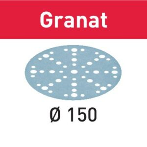Festool Disco de lijar STF D150/48 P180 GR/10 Granat