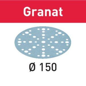 Festool Disco de lijar STF D150/48 P80 GR/10 Granat