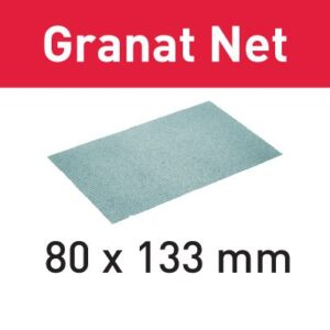 Festool Abrasivo de malla STF 80x133 P180 GR NET/50 Granat Net