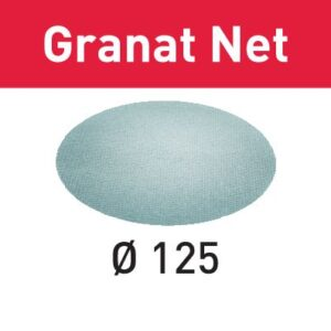 Festool Abrasivo de malla STF D125 P80 GR NET/50 Granat Net
