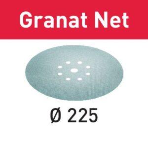 Festool Abrasivo de malla STF D225 P120 GR NET/25 Granat Net