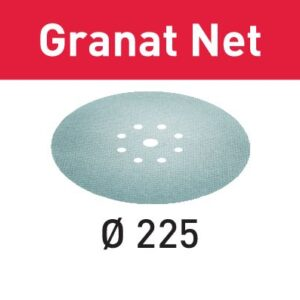 Festool Abrasivo de malla STF D225 P240 GR NET/25 Granat Net