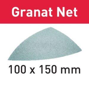Festool Abrasivo de malla STF DELTA P100 GR NET/50 Granat Net
