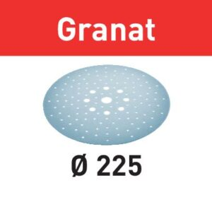 Festool Disco de lijar STF D225/128 P120 GR/5 Granat